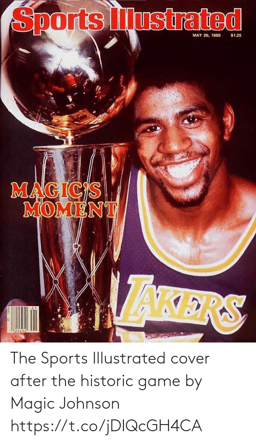 After The: The Sports Illustrated cover after the historic game by Magic Johnson https://t.co/jDIQcGH4CA