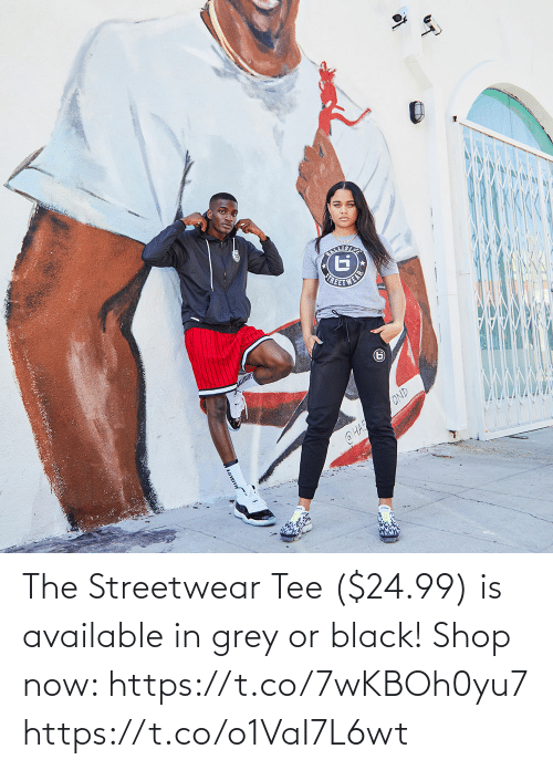 tee: The Streetwear Tee ($24.99) is available in grey or black!  Shop now: https://t.co/7wKBOh0yu7 https://t.co/o1VaI7L6wt