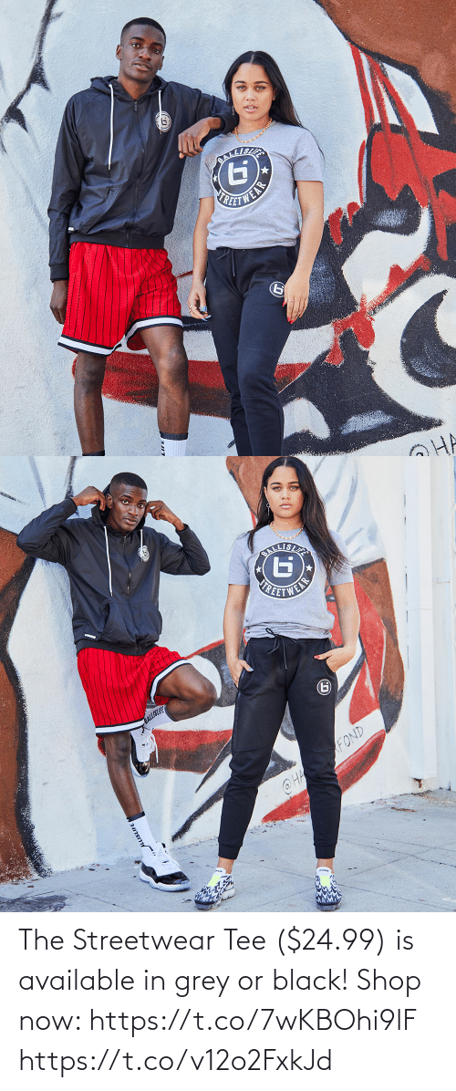tee: The Streetwear Tee ($24.99) is available in grey or black!  Shop now: https://t.co/7wKBOhi9lF https://t.co/v12o2FxkJd