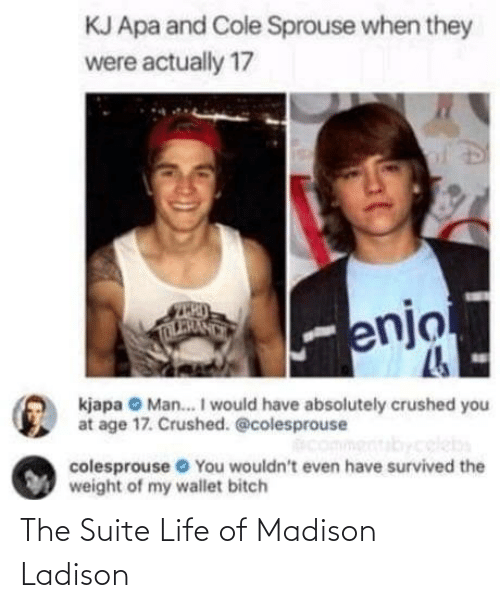 suite: The Suite Life of Madison Ladison