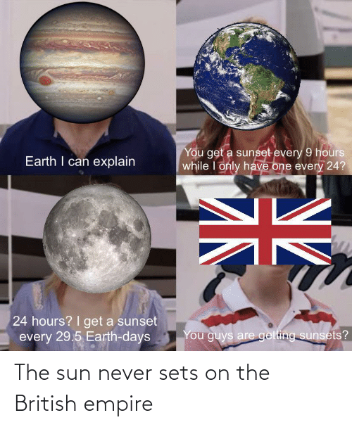 Empire, British, and British Empire: The sun never sets on the British empire