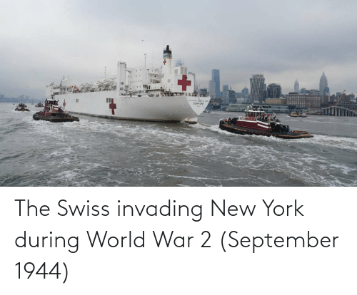 World War 2: The Swiss invading New York during World War 2 (September 1944)