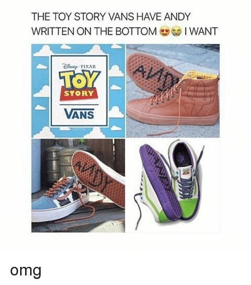 Vans Toy Story Andy