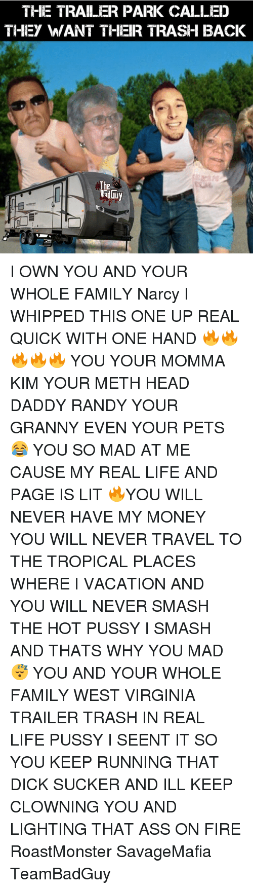 trailer trash tits and pussy