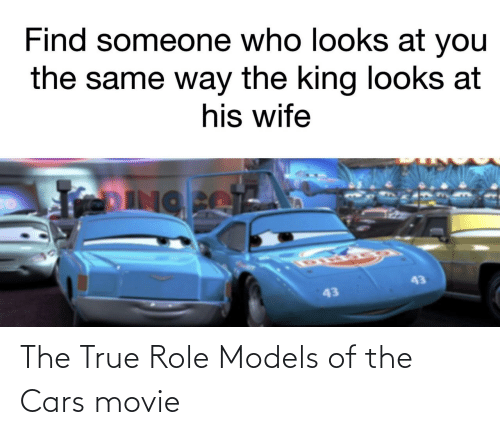 Role Models: The True Role Models of the Cars movie