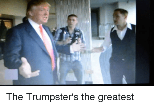 Dank Memes: The Trumpster's the greatest