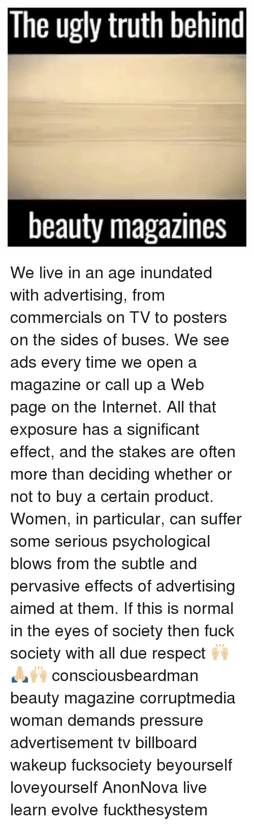 the ugly truth behind advertising