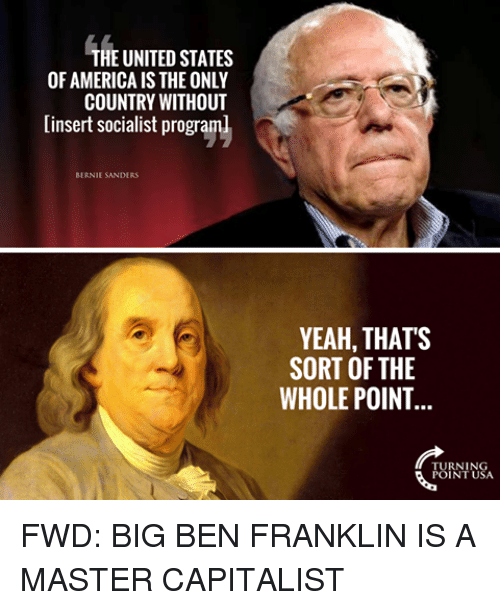 capitalist ethos of benjamin franklin