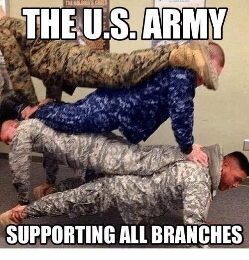 Army, Military, and Us Army: THE US ARMY  SUPPORTING ALL BRANCHES