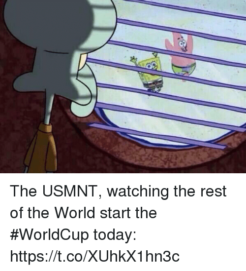 usmnt: The USMNT, watching the rest of the World start the #WorldCup today: https://t.co/XUhkX1hn3c