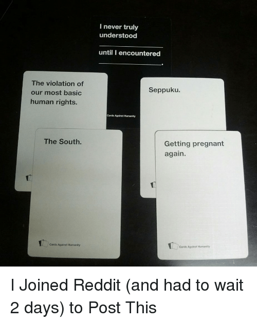 500 Funny Cards Against Humanity Memes of 2016 on SIZZLE