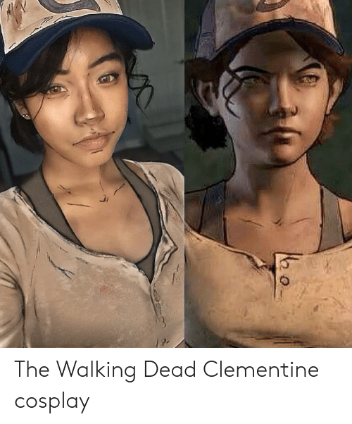 the walking: The Walking Dead Clementine cosplay