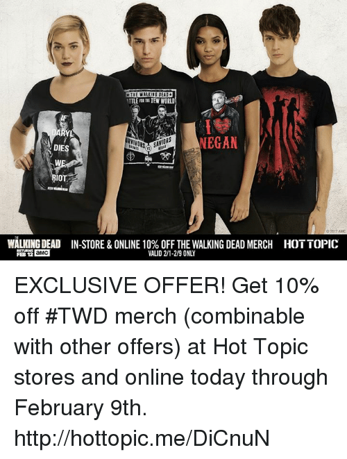 Hot topic online shopping