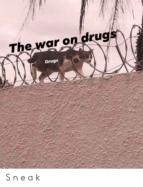 Drugs: The war on drugs  Drugs S n e a k