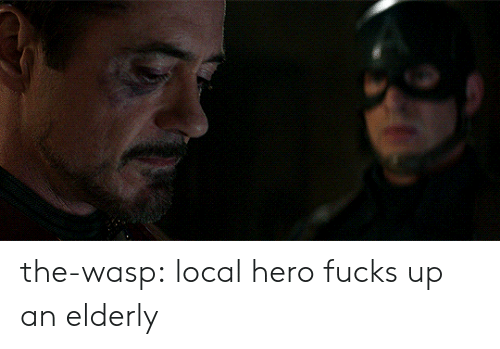the wasp: the-wasp:  local hero fucks up an elderly