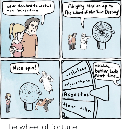 wheel of fortune: The wheel of fortune