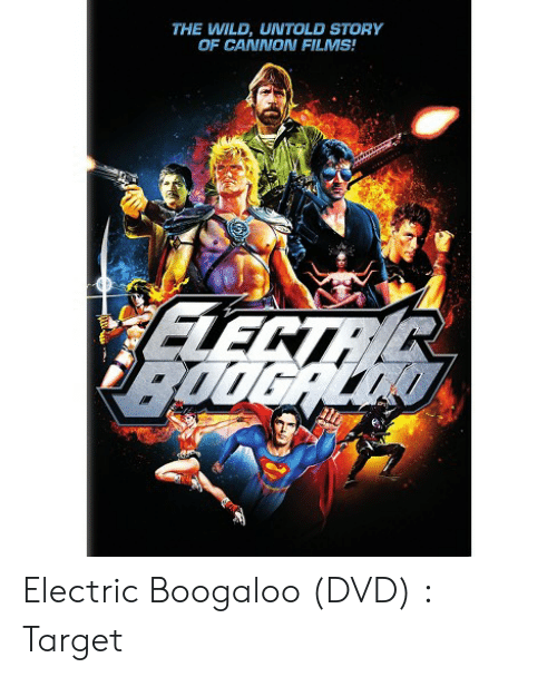 Cannon Films: THE WILD, UNTOLD STORY  OF CANNON FILMS Electric Boogaloo (DVD) : Target