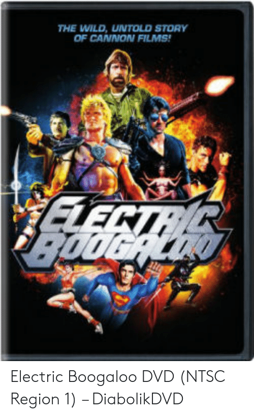 Cannon Films: THE WILD, UNTOLD STORY  OF CANNON FILMS Electric Boogaloo DVD (NTSC Region 1) – DiabolikDVD