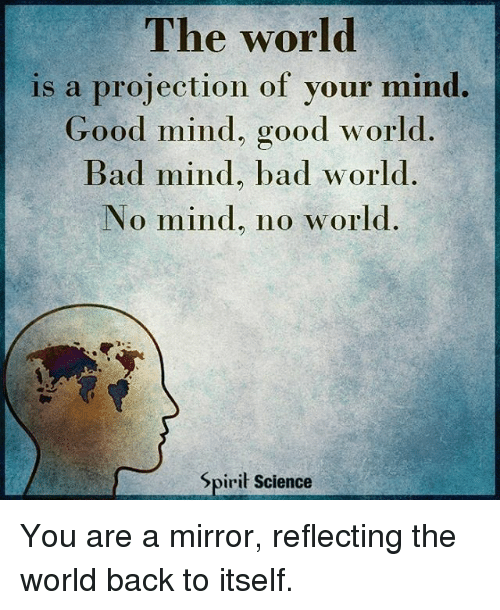 mirror to the world