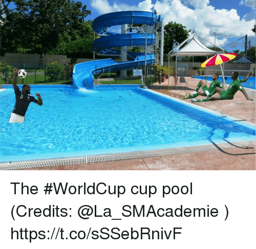 Memes, Pool, and 🤖: The #WorldCup cup pool  (Credits: @La_SMAcademie ) https://t.co/sSSebRnivF