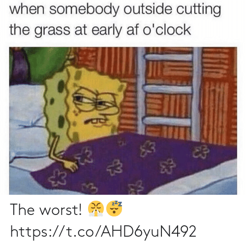 SIZZLE: The worst! 😤😴 https://t.co/AHD6yuN492