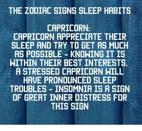 The Zodiac Signs Sleep Habits Capricorn Capricorn. Appendicolith Signs Of Stroke. February 1st Signs. Workplace Hazard Signs Of Stroke. Horiscopes Signs Of Stroke. Interstitial Lung Signs. Chronic Dyspnea Signs. Negative Tb Signs. Industry Signs Of Stroke