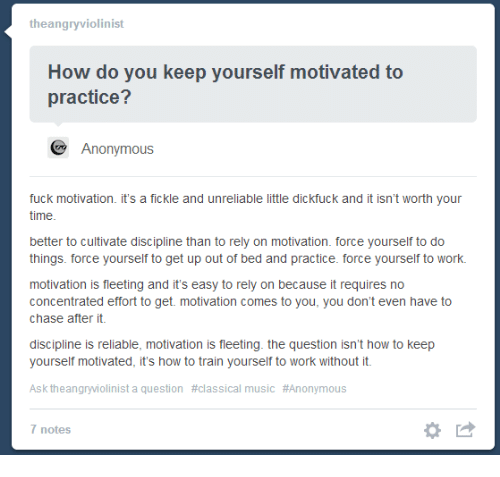how to keep yourself motivated at work