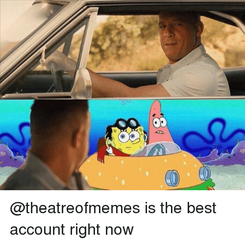 Memes, Best, and 🤖: @theatreofmemes is the best account right now