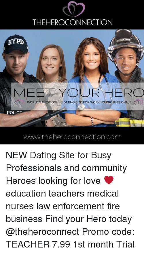 Dating site law enforcement professionals