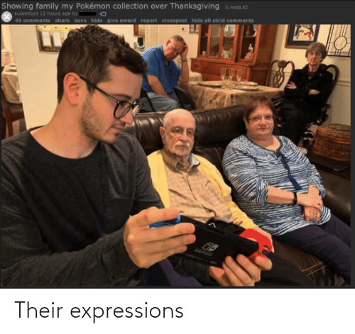 Expressions: Their expressions