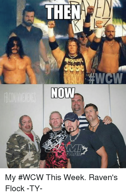Wcw, World Wrestling Entertainment, and Raven: THEMA  NOW My #WCW This Week.  Raven's Flock -TY-