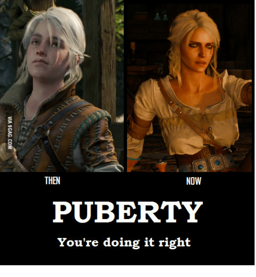 Puberty doing it right