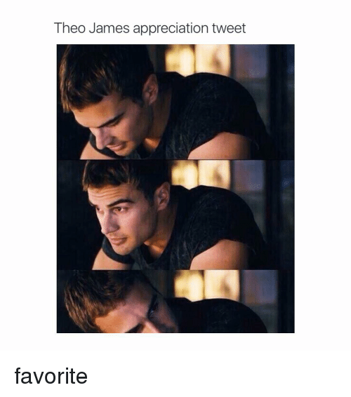 Girl Memes: Theo James appreciation tweet favorite