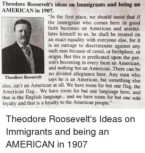 theodore roosevelts ideas about gender and civilization Read the full text of president teddy roosevelt's new nationalism 1910, president theodore roosevelt nations rise from barbarism to civilization.