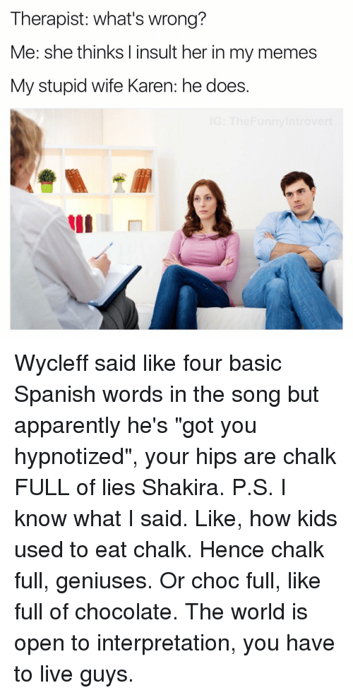 how to say i like you shakira in spanish