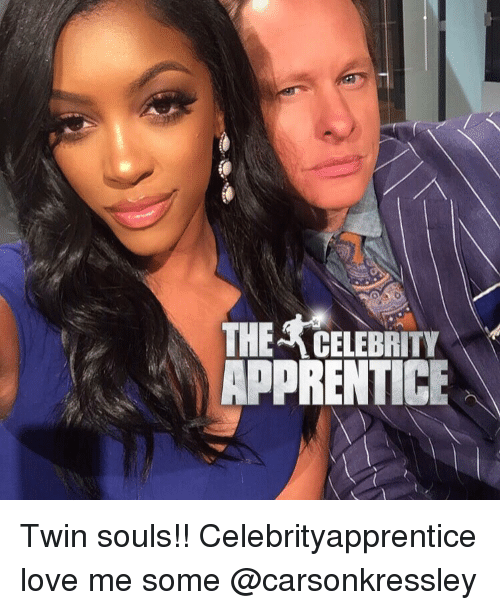 Memes, Twins, and 🤖: THERCELEBRITY  APPRENTICE  A Twin souls!! Celebrityapprentice love me some @carsonkressley