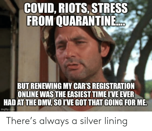 Silver: There's always a silver lining