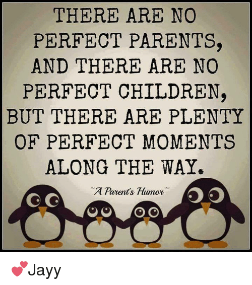 Parenting Humor: THERE ARE NO  PERFECT PARENTS,  AND THERE ARE NO  PERFECT CHILDREN,  BUT THERE ARE PLENTY  OF PERFECT MOMENTS  ALONG THE WAY.  A Parents Humor  SO  G G  O O  O O 💕Jayy