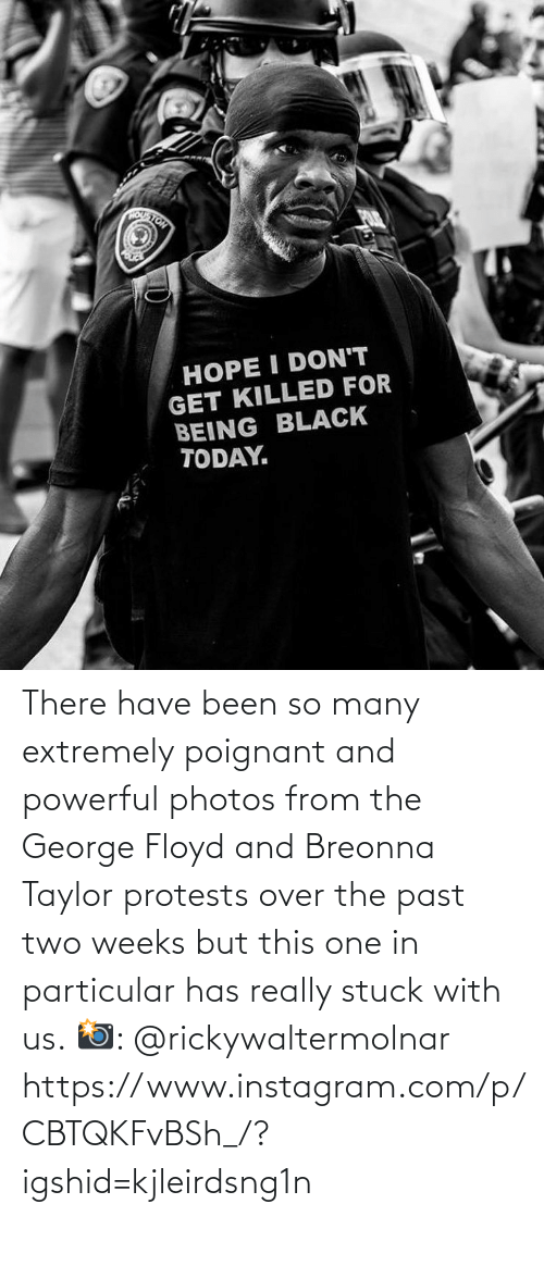 Protests: There have been so many extremely poignant and powerful photos from the George Floyd and Breonna Taylor protests over the past two weeks but this one in particular has really stuck with us.  📸: @rickywaltermolnar  https://www.instagram.com/p/CBTQKFvBSh_/?igshid=kjleirdsng1n