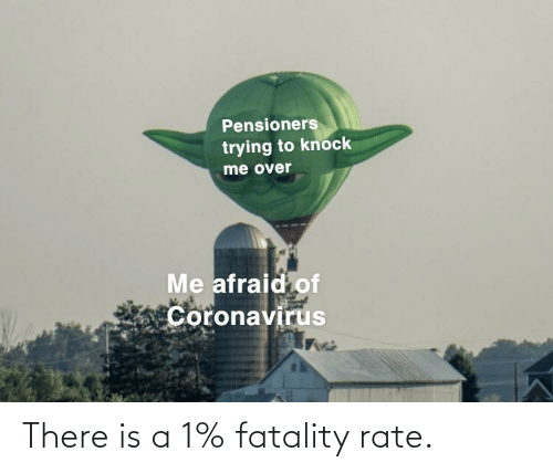 fatality: There is a 1% fatality rate.