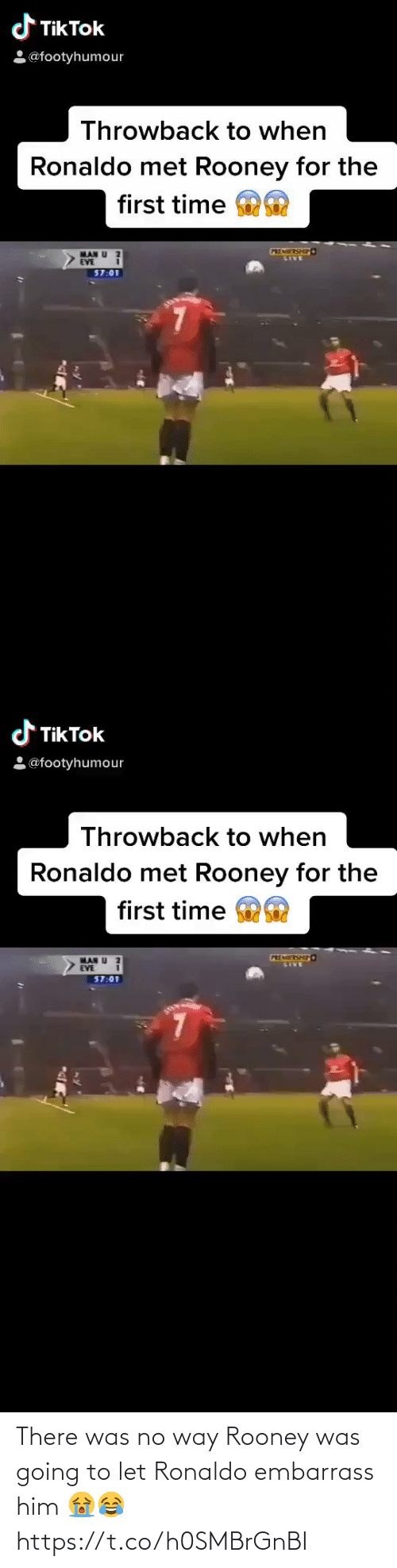 soccer: There was no way Rooney was going to let Ronaldo embarrass him 😭😂 https://t.co/h0SMBrGnBI