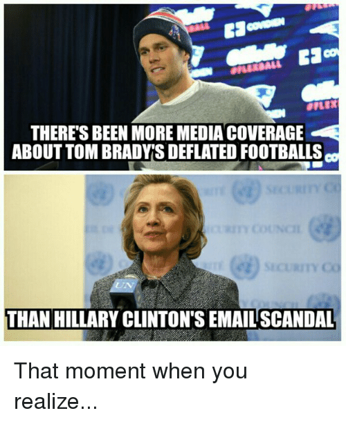 theres been more media coverage about tom bradys deflated footballs 2200989 🔥 25 best memes about deflated football deflated football memes