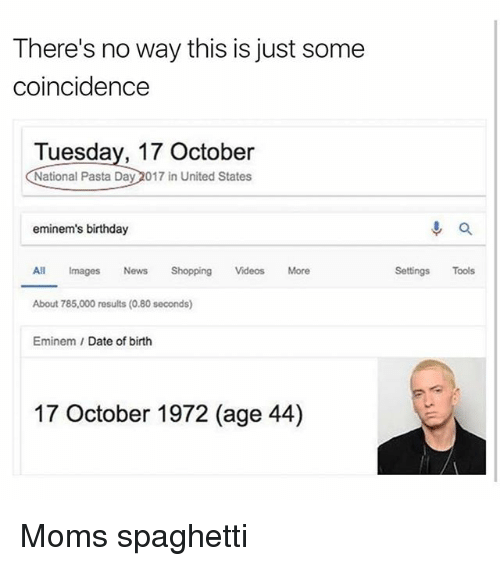 Eminem date of birth in Perth