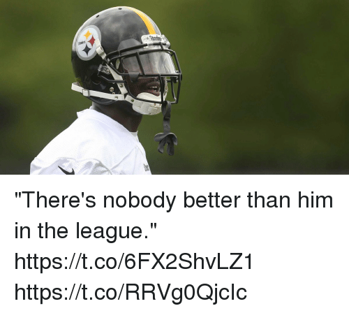 """Memes, The League, and 🤖: """"There's nobody better than him in the league."""" https://t.co/6FX2ShvLZ1 https://t.co/RRVg0QjcIc"""