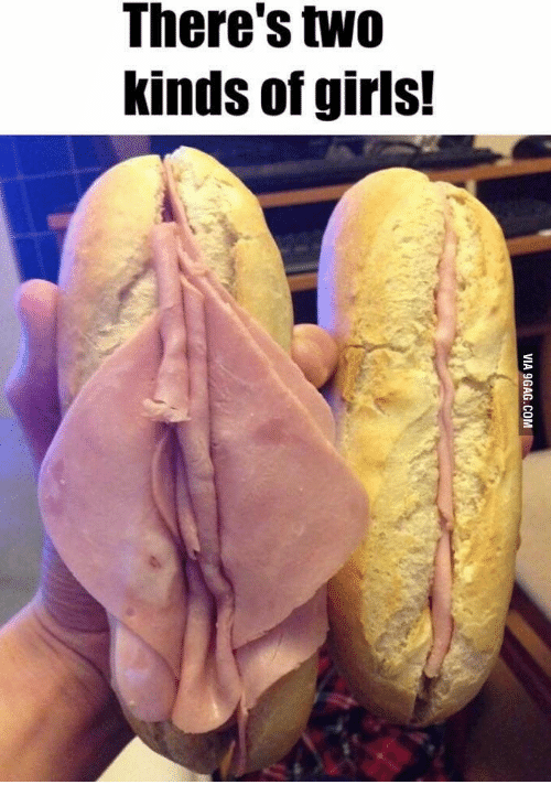 25 Best Two Types Of Girls Sandwich Memes Two Kinds Of Girls