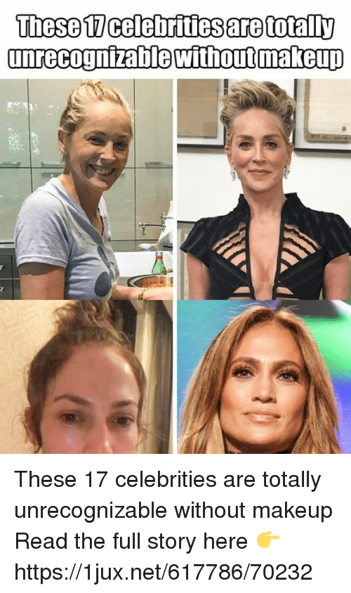 Makeup, German (Language), and Celebrities: These 17 celebrities are totally unrecognizable without makeup Read the full story here 👉 https://1jux.net/617786/70232