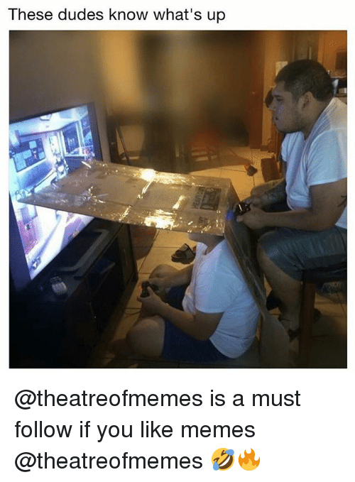 Memes, 🤖, and You: These dudes know what's up @theatreofmemes is a must follow if you like memes @theatreofmemes 🤣🔥