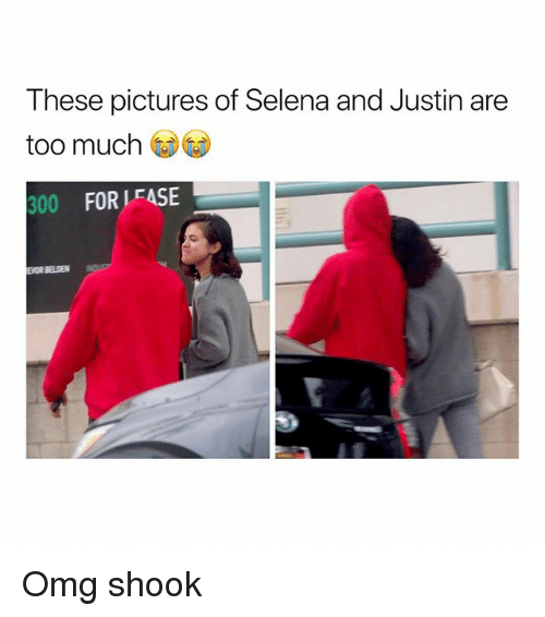 Omg, Too Much, and Pictures: These pictures of Selena and Justin are  too much  00 FOR LEASE Omg shook