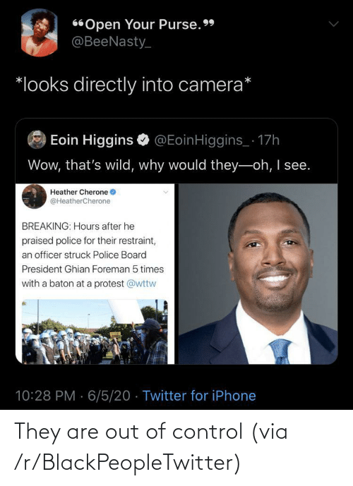 out of control: They are out of control (via /r/BlackPeopleTwitter)
