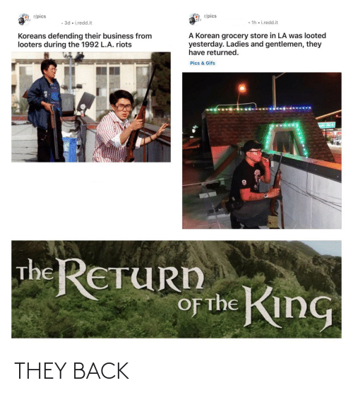 Back: THEY BACK